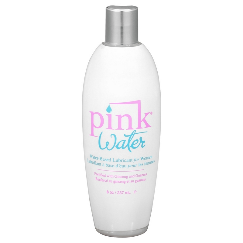 EM1408 Empowered Products 8 oz. Pink Water Water Based Lube