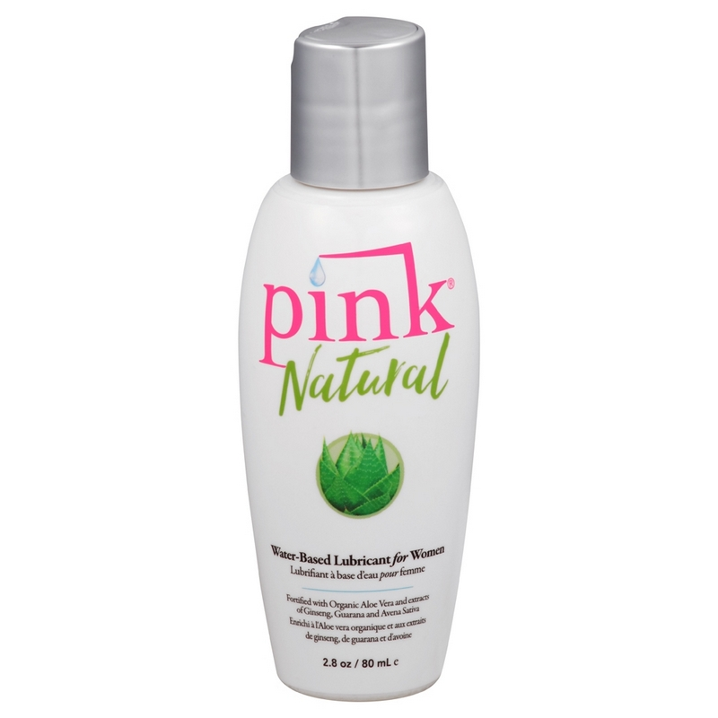 EM1502 Empowered Products 2.8 oz. Pink Natural Water Based Lube