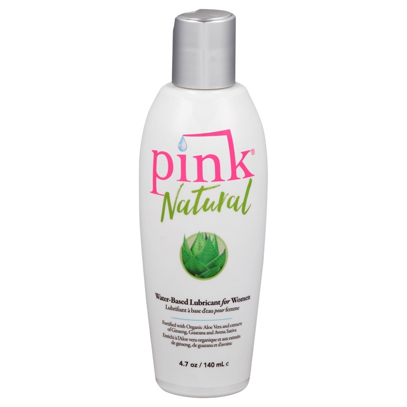 EM1504 Empowered Products 4.7 oz. Pink Natural Water Based Lube