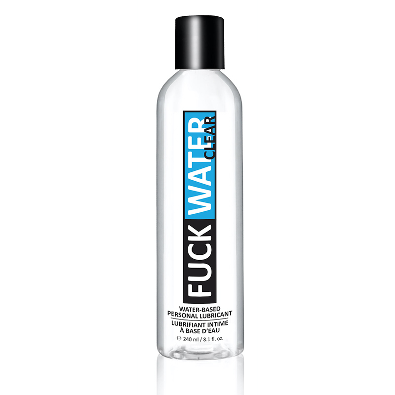 FW1502 Non-Friction Products 240 ml Fuckwater Clear