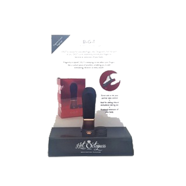 H2005 Hot Octopus Digit Display Stand & Info Card ONE PER STORE ONLY FREE WITH TESTER & 3 UNITS BOUGHT