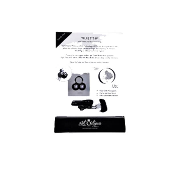 H2009 Hot Octopus Jett Product Info Card ONE PER STORE ONLY FREE WITH TESTER & 3 UNITS BOUGHT