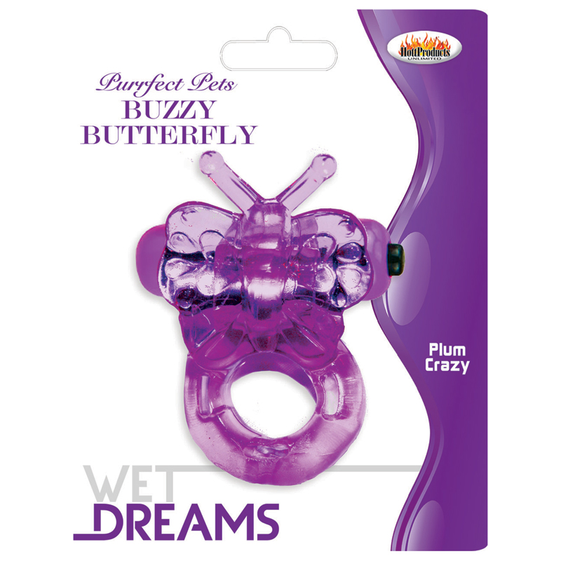 HP2135 Hott Products Buzzy Butterfly Purple