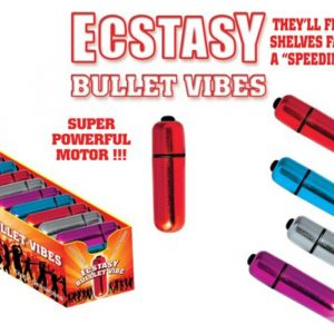 HP2191-D Hott Products Ecstasy Bullet Vibes 36/DISPLAY