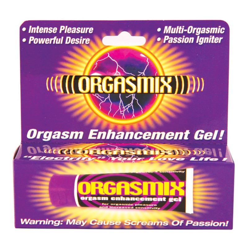HP2197 Hott Products Orgasmix 1 oz Orgasm Enhancing Gel BOXED