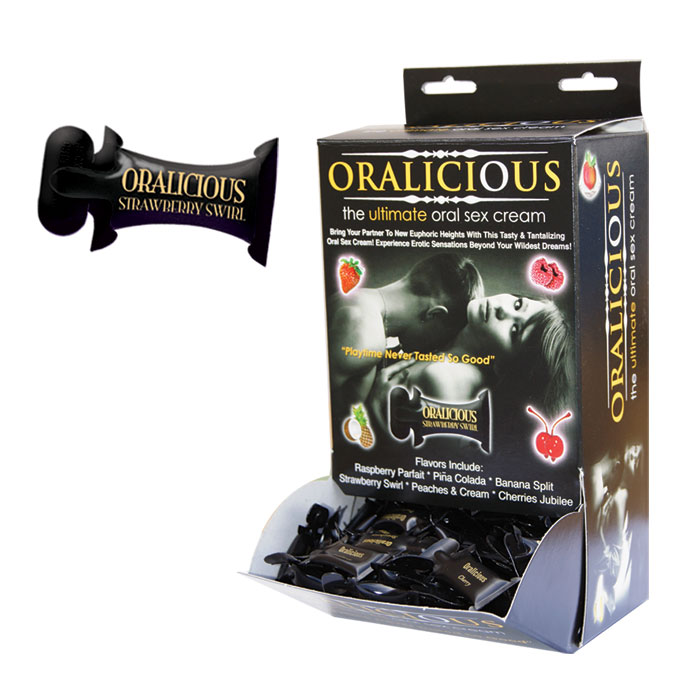 HP2670 Hott Products  Oralicious Oral Sex Cream Display of 144
