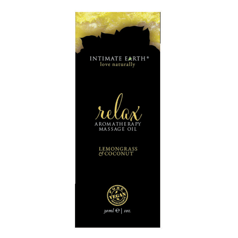 INT009F Intimate EarthRelax Massage Oil 30 ml Foil Sample