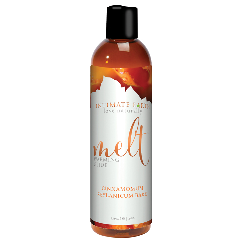 INT032-120IE Intimate Earth 120 ml Melt Warming Lubricant