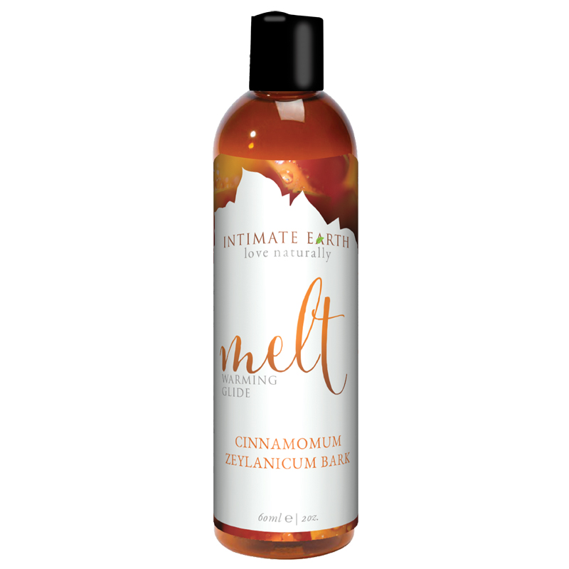INT032-60IE Intimate Earth 60 ml Melt Warming Lubricant