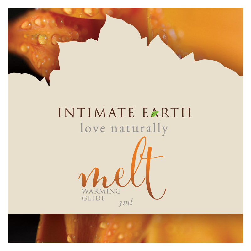 INT032-FOIL Intimate Earth 3 ml Melt Warming Glide Foil Pac
