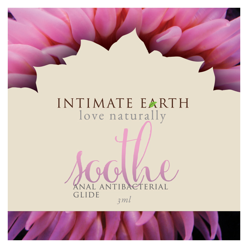 INT035-FOIL Intimate Earth 3 ml Soothe Anal Glide Foil Pac
