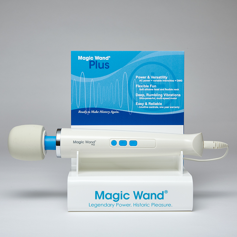 NEW J50080 Vibratex Magic Wand Plus Demo and DisplayONE  PER STORE ONLY FREE WITH 3 UNITS BOUGHT
