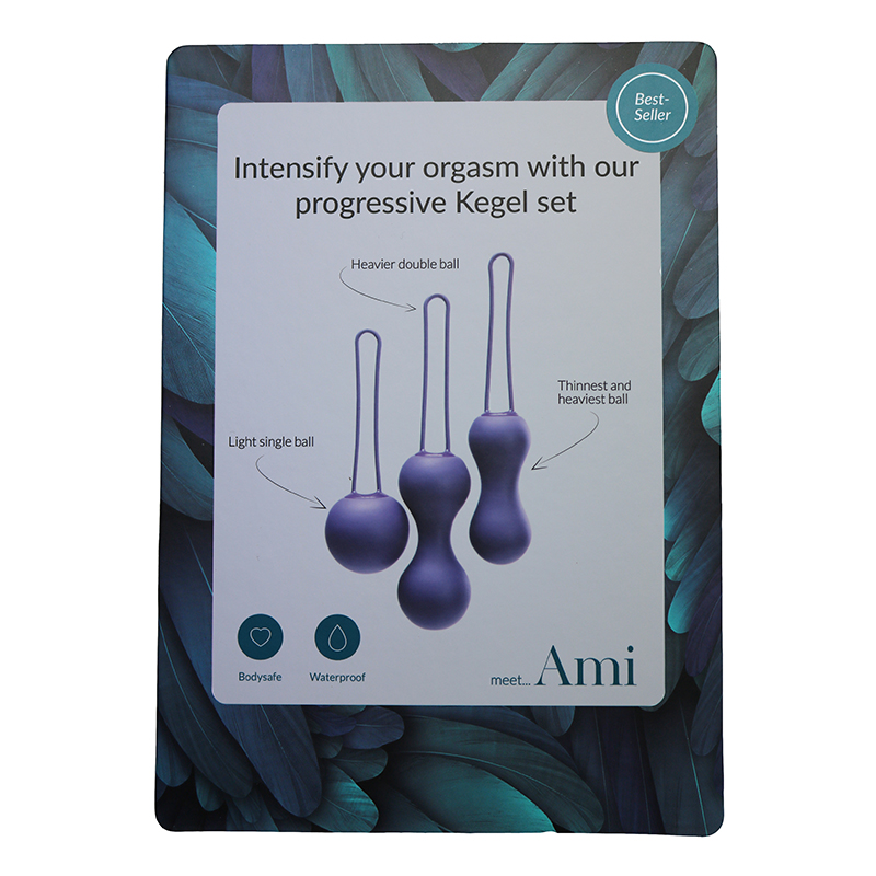 NEW JE1010 Je Joue Ami Kegel Set Display CardONE PER STORE ONLY FREE WITH 3 UNITS BOUGHT