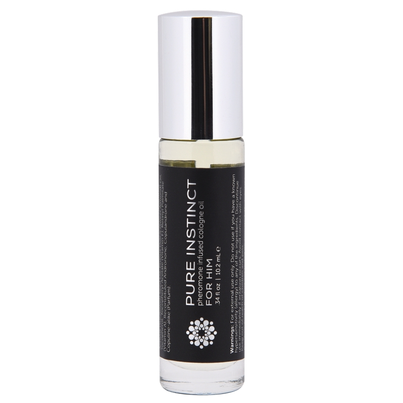 JEL4001-10 Jelique Products  Pure Instinct Roll-On For Him