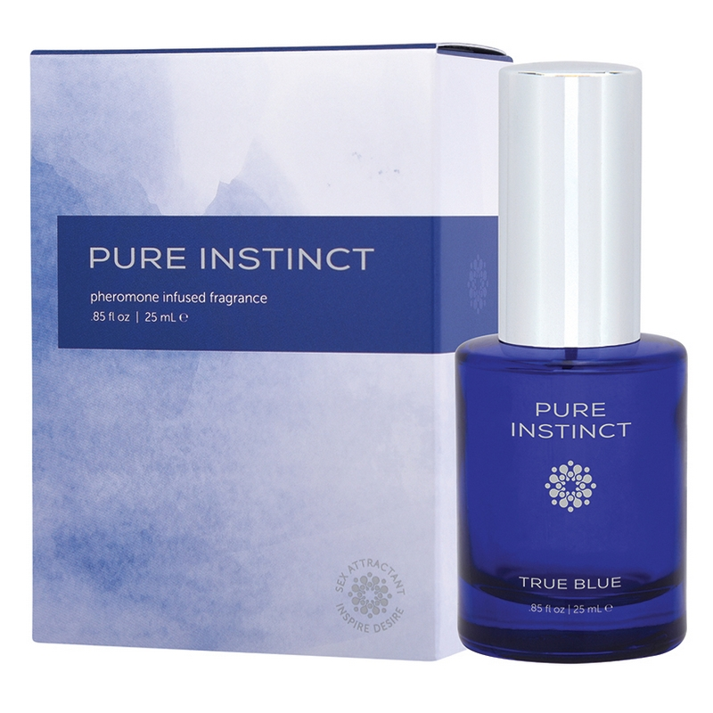 JEL4502-10 Jelique Products 0.85 oz Pure Instinct True Blue Fragrance Boxed