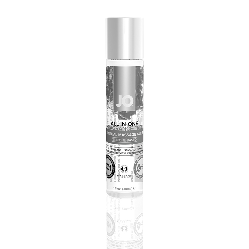 JL10145 System JO  JO All-In-One Massage Glide 1 oz  Unscented