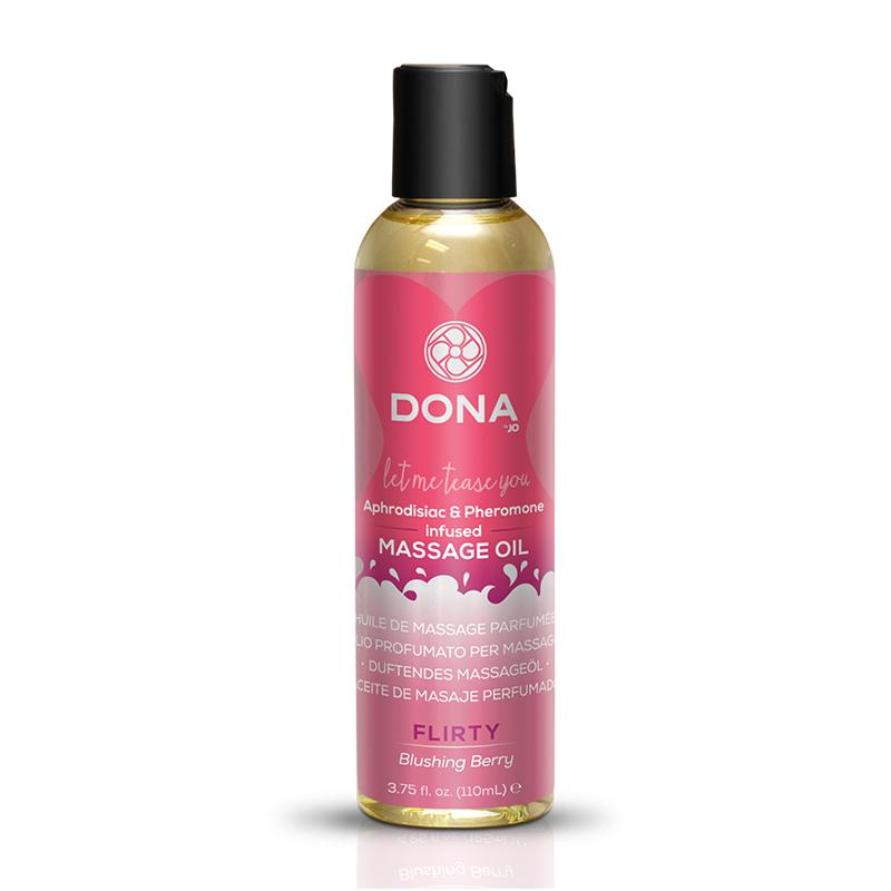 JL40517 System JO Dona Massage Oil 3.75 oz Blushing Berry
