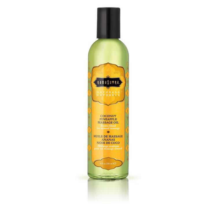 KAM10219 Kama Sutra Naturals Massage Oil Coconut Pineapple