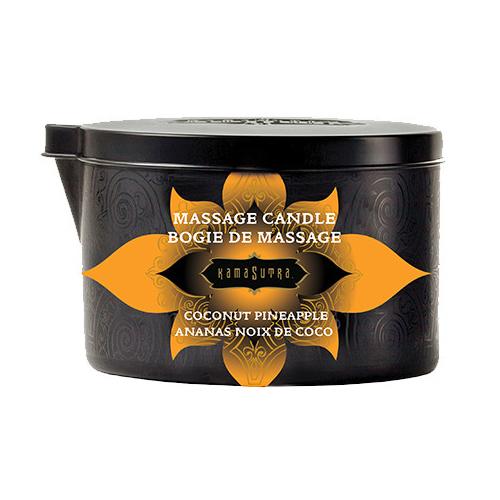 KAM10227 Kama Sutra Massage Candle Coconut Pineapple