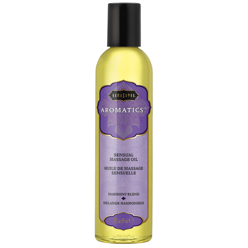 KAM10276 Kama Sutra Aromatic Massage Oil 2 oz. Harmony Blend