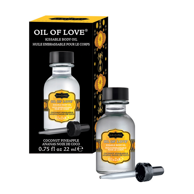 KAM12002 Kama Sutra Oil of Love .75 oz Coconut Pineapple