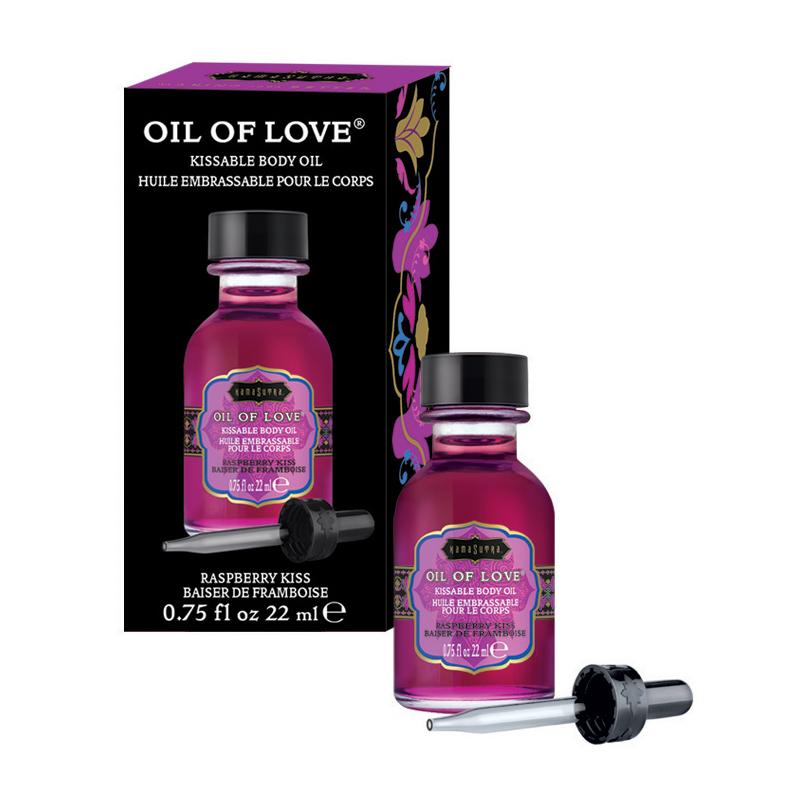 KAM12003 Kama Sutra Oil of Love .75 oz Raspberry Kiss