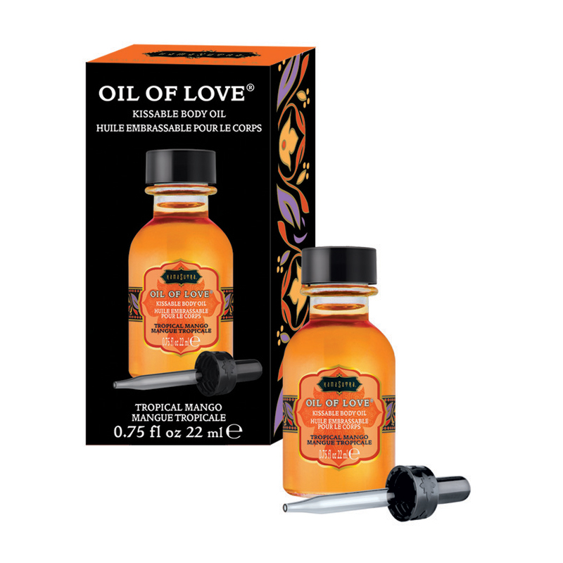 KAM12005 Kama Sutra Oil of Love .75 oz Tropical Mango