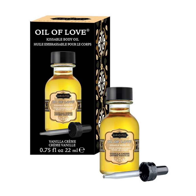 KAM12006 Kama Sutra Oil of Love .75 oz Vanilla Crème