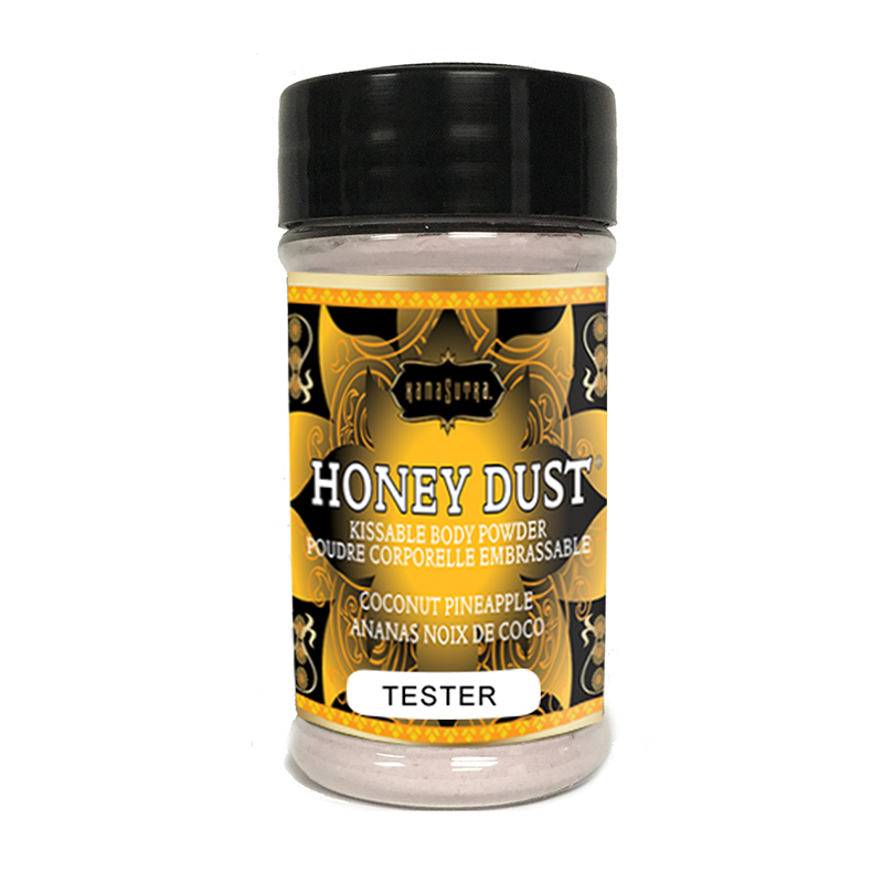 KAM12012T Kama Sutra Honey Dust Tester Shaker Coconut PineappleONE PER STORE ONLY FREE WITH 2 UNITS BOUGHT PER FLAVOR