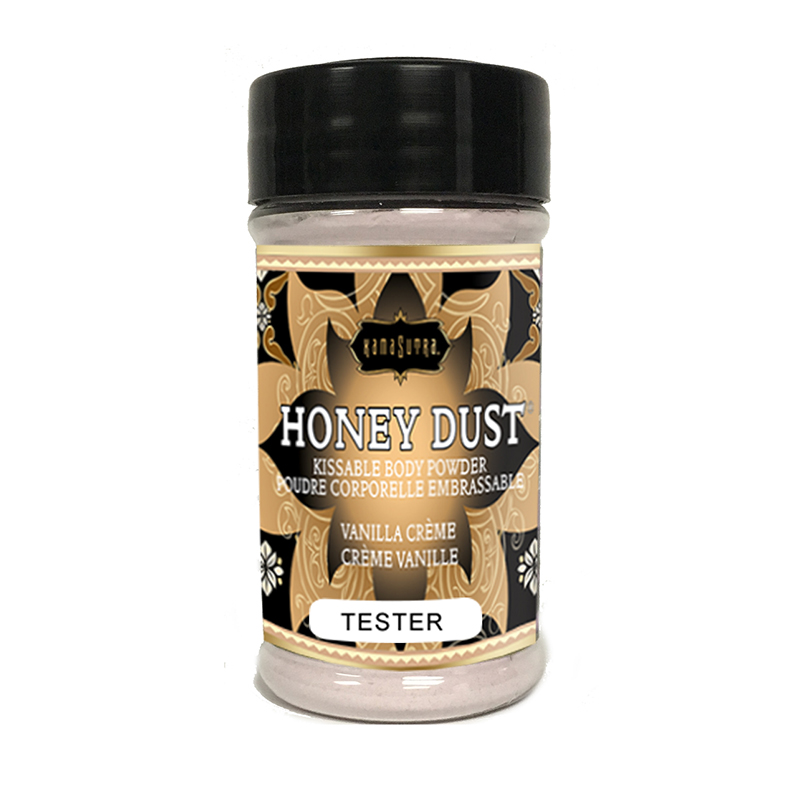 KAM12016T Kama Sutra Honey Dust Tester Shaker Vanilla CrèmeONE PER STORE ONLY FREE WITH 2 UNITS BOUGHT PER FLAVOR