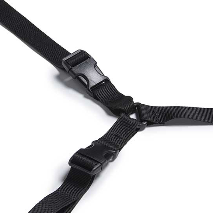 L11014101 Liberator Bed Buckle Black  NO FURTHER DISCOUNTS APPLY