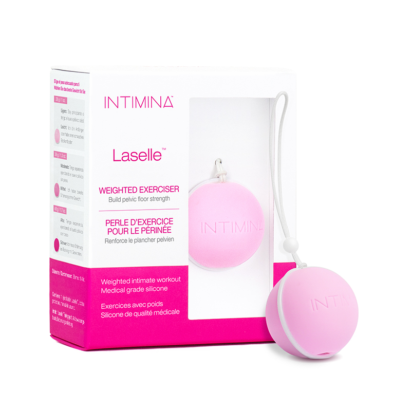 NEW IN5556 Intimina Laselle Kegel Exerciser 28 g Weighted Ball  NO FURTHER DISCOUNTS APPLY