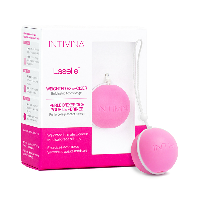NEW IN5570 Intimina Laselle Kegel Exerciser 38 g Weighted Ball  NO FURTHER DISCOUNTS APPLY