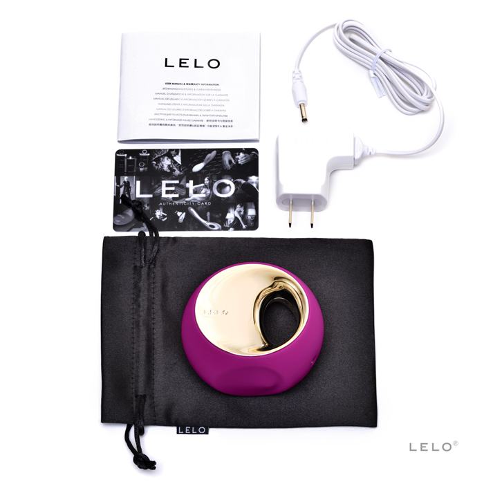 L7502 Lelo  Ora Deep Rose  NO FURTHER DISCOUNTS APPLY