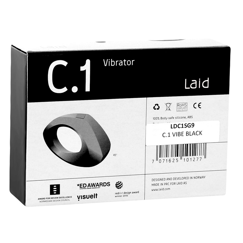 LD4501 Laid C1 Clitoral Vibrator Black SALE PRICED WHILE STOCK LASTS