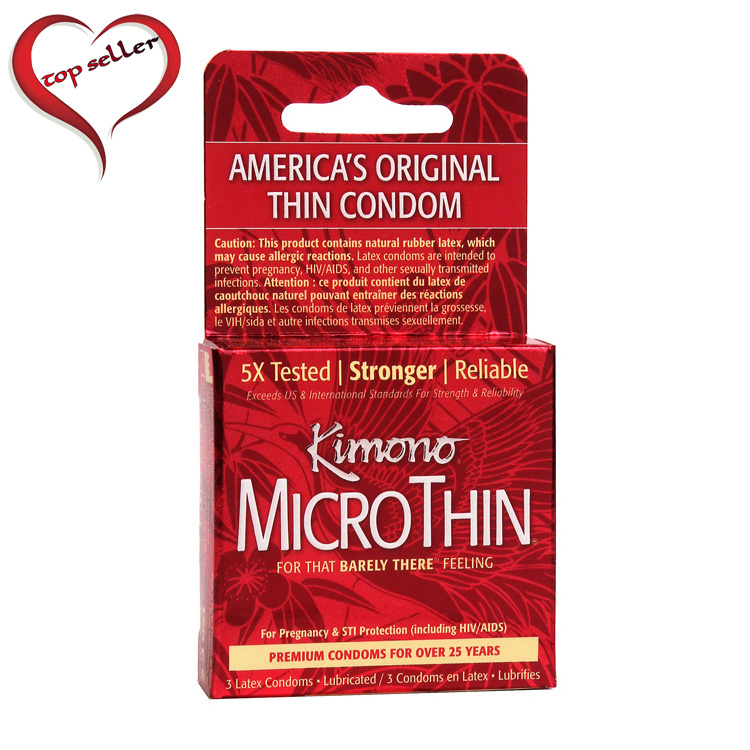 M05003 Kimono Micro Thin Condom3 Pack
