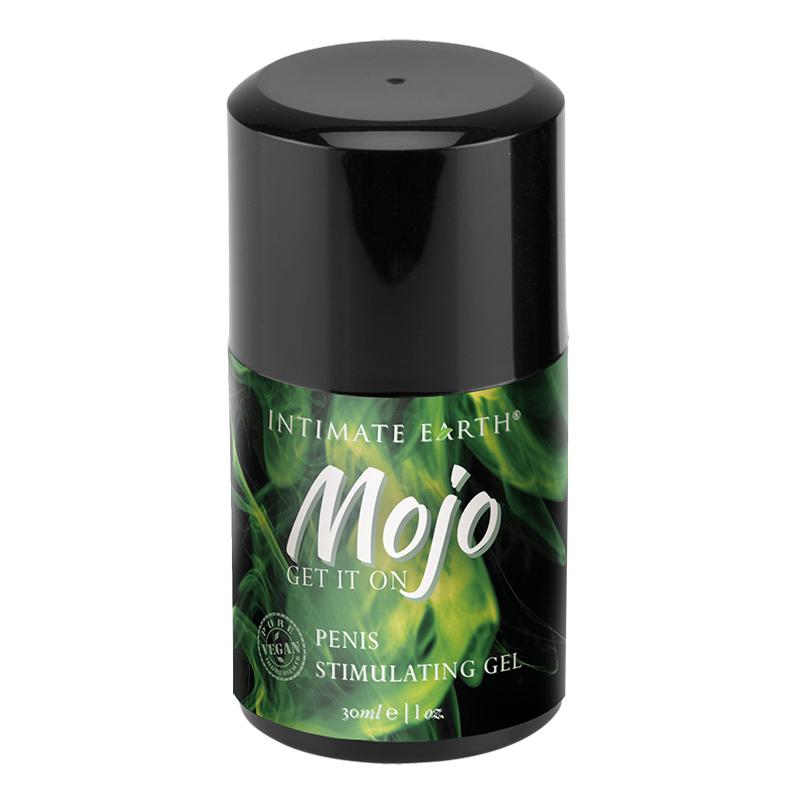 MJ015 Intimate Earth  30 ml MOJO Penis Stimulating Gel Niacin & Ginseng