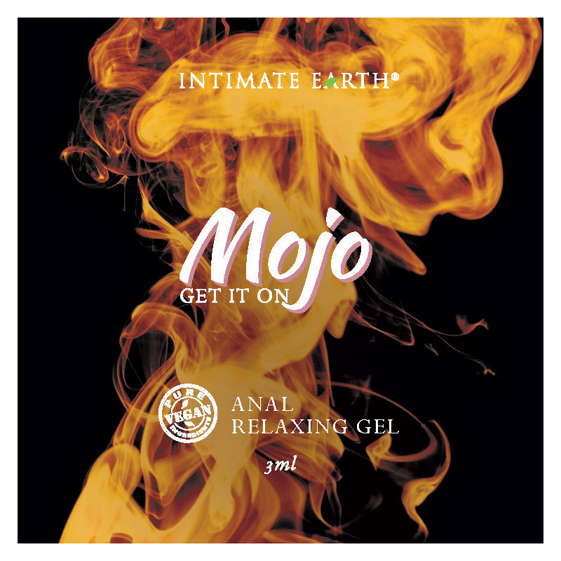 MJ017-FOIL Intimate Earth MOJO Anal Relaxing Gel 3 ml Foil Pac