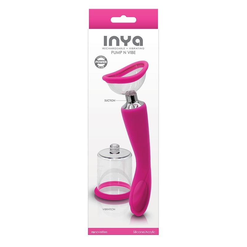 NEW NSN0554-44 NS Novelties Inya Pump & Vibe Pink