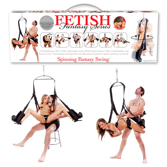 PD2121-23  Pipedream Products Fetish Fantasy Spinning Fantasy Swing
