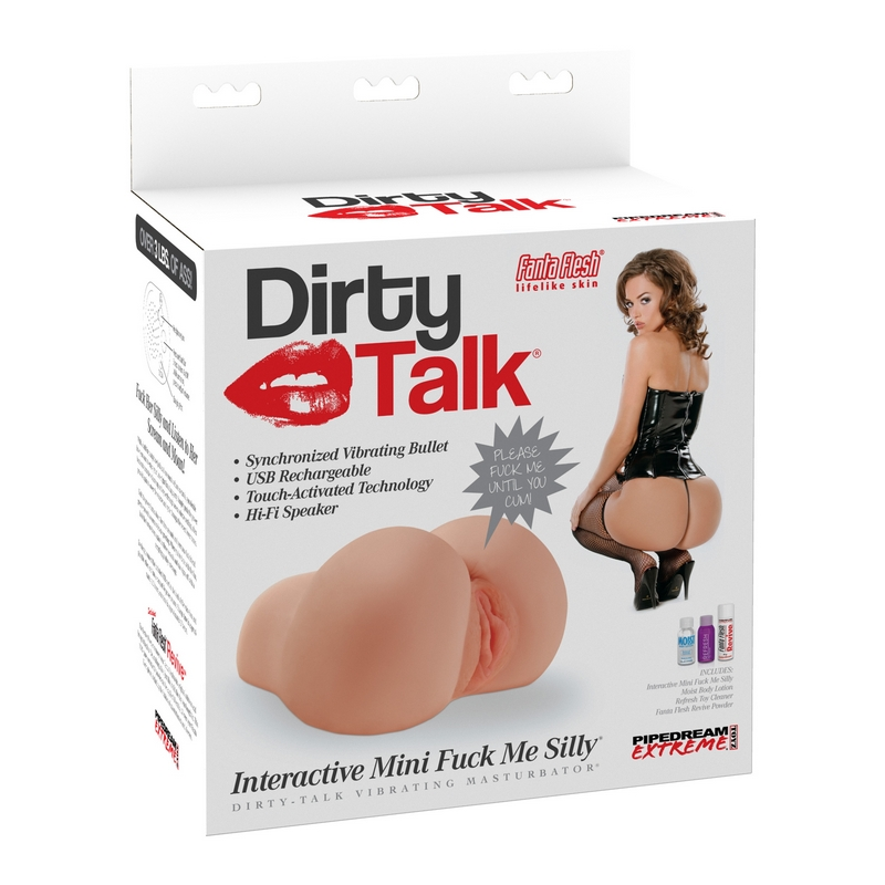 RD412 Pipedream Products Dirty Talk Interactive MINI Fuck Me Silly