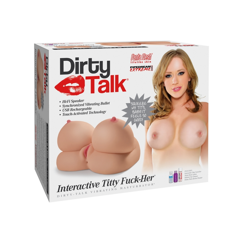 RD413 Pipedream Products Dirty Talk Interactive Titty Fuck-Her