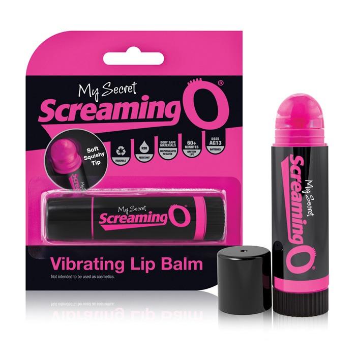 SCBALM110 Screaming O My Secret Screaming O Vibrating Lip Balm