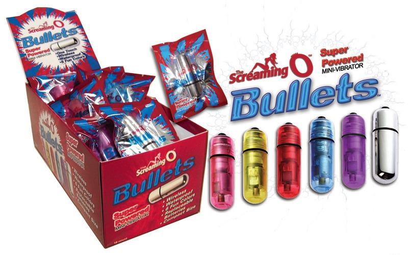 SCBUL110 Screaming O BulletsBox of 20
