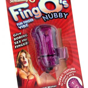 SCFNGO110-P  Screaming O The Fing O'sPurple Nubby Texture