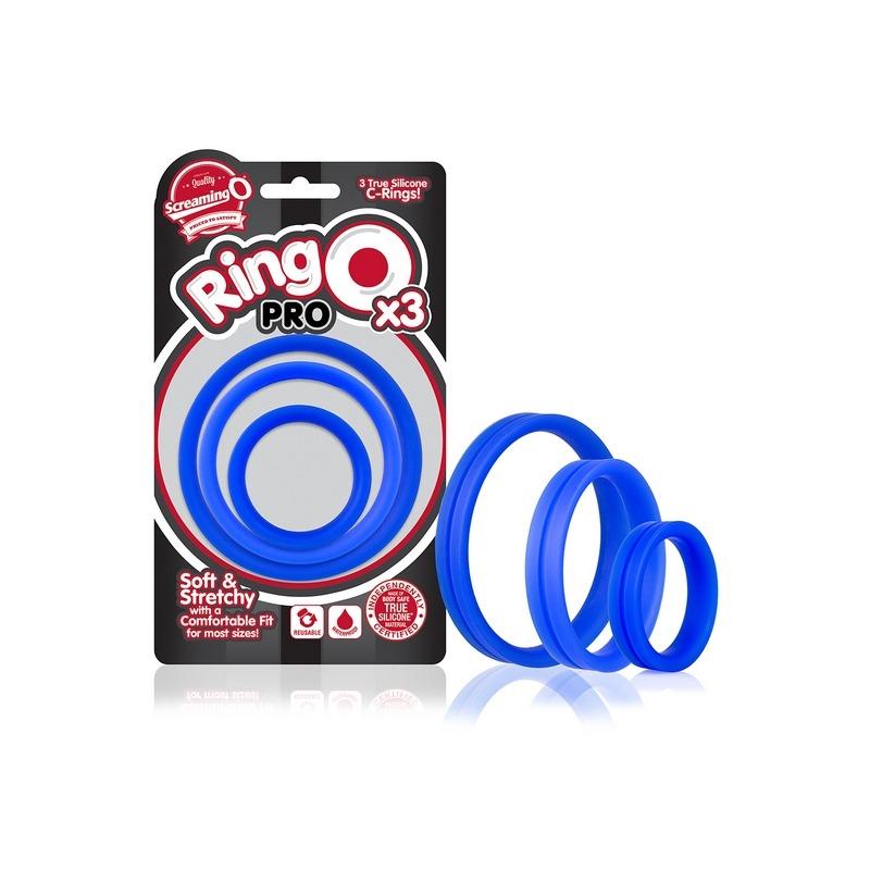 SCPRO-BU-110 Screaming O RingO Pro x3 Blue