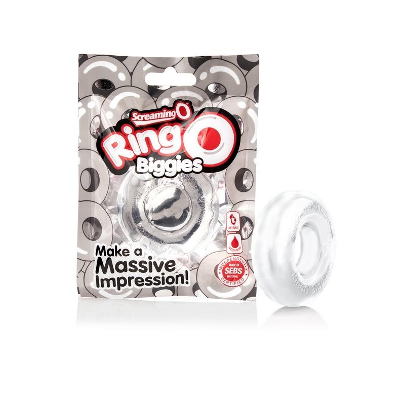 SCRBG-C-110 Screaming O RingO Biggies Clear
