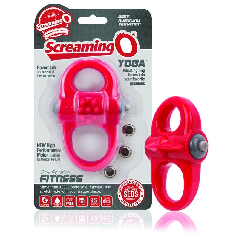 SCYOG-R110 Screaming O The Yoga Red