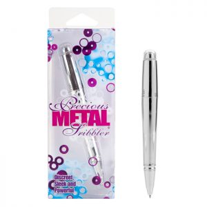 SE0011-20-3 California Exotics Precious Metal Scribbler Silver SALE PRICED WHILE STOCK LASTS