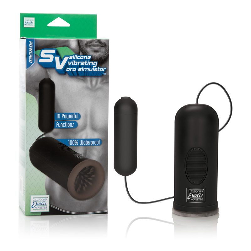 SE1006-10-3 California Exotics Silicone Vibrating Oro Stimulator™